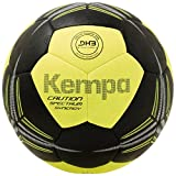 Kempa Spectrum Synergy Caution Ball, Schwarz/Fluo Gelb, 2.0