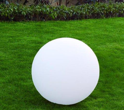 Kugelleuchte, Polyethylen, Weiß Diamètre Ø 50 cm Blanc Avec Ampoule E27