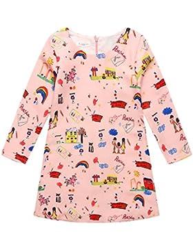 Little Hand Kinder Mädchen Kleider,Prinzessin Maedchen Kleid Partykleid Frühling Kinderkleider Festliche Hochzeit...