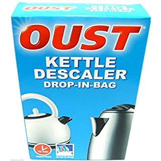 Oust Kettle Descaler Drop In Bag Kettle Cleaner Limescale Remover Super Fast New
