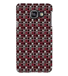 ifasho Designer Phone Back Case Cover Samsung Galaxy A3 (6) 2016 :: Samsung Galaxy A3 2016 Duos :: Samsung Galaxy A3 2016 A310F A310M A310Y :: Samsung Galaxy A3 A310 2016 Edition ( Blue Colorful Pattern Design )
