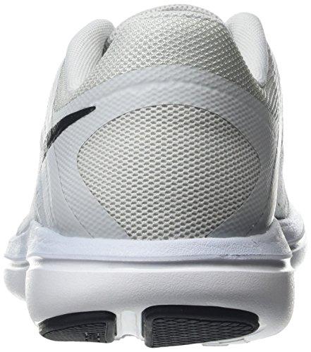Nike Flex 2016Rn, Chaussures de Running Compétition Femme, UK Argent (002 Silver)