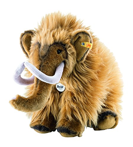 Steiff 82429 - Mimmi Mammut 38 stehend, Traditioneller Plüsch, rot/braun