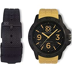 Barcelonetas Sport SAND-BLACK Unisex watches W01SD