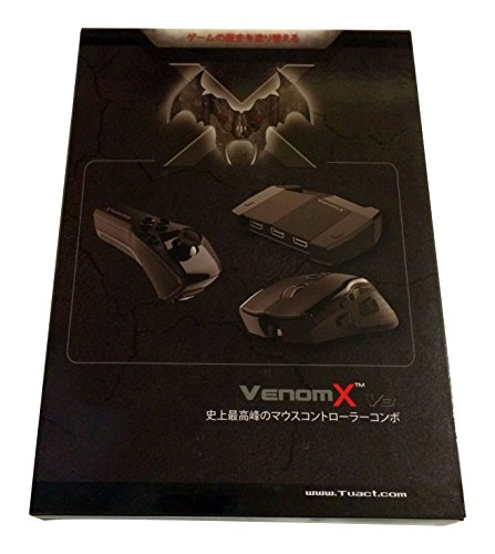 VENOM-X V3 Controller 日本語版正規品 (for PS3/ PS4/ XBOX 360/ XBOX ONE/ PC Windows) (Ps3 Controller Wie Der Xbox 360)