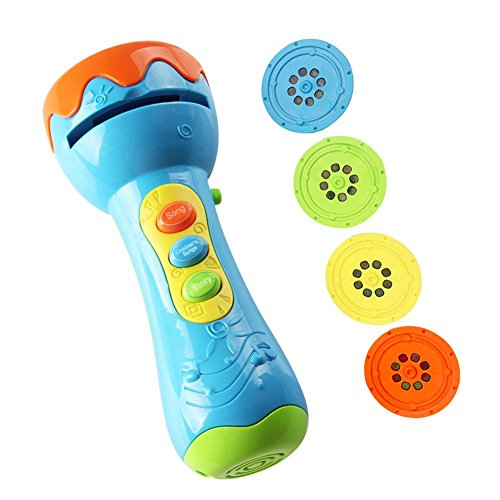 Projektor Spielzeug Kinder Geschichte Taschenlampe Spielzeug Slide Show Vorschule Spielzeug pädagogisches Spielzeug für Kinder Kleinkind Jungen und Mädchen