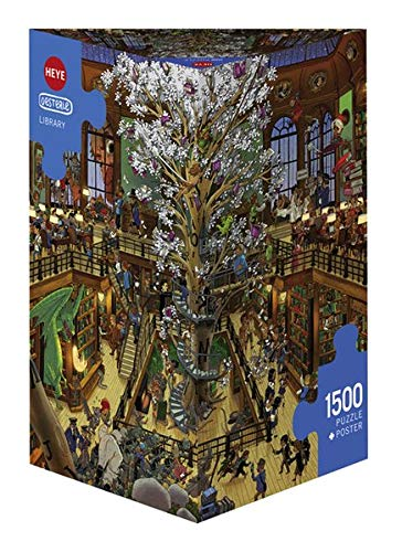 Heye 29840 Library, Oesterle Puzzles Triangulares