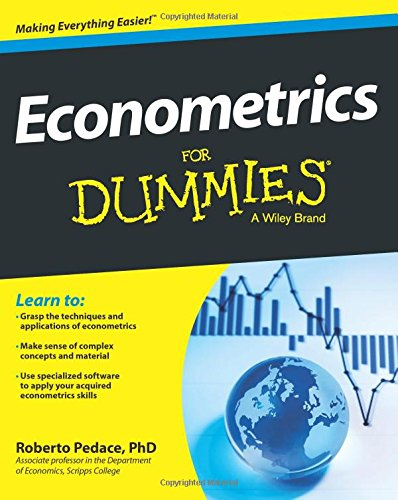 Pdf Download Econometrics For Dummies Pdf Online Library By
