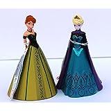 Bullyand Disney Frozen - Playset Cake Topper Anna + Elsa Crowning NEW by Disney
