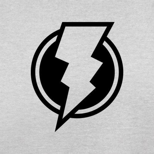 Blitz - Herren T-Shirt - 13 Farben Hellgrau