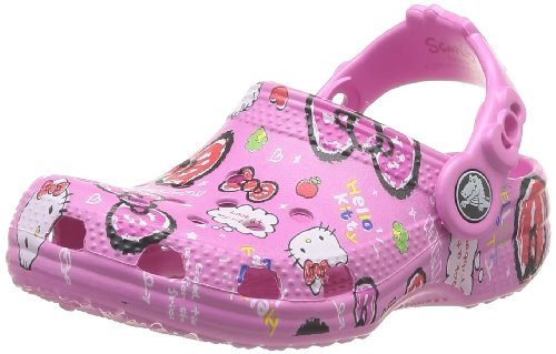 Crocs Hello Kitty Good Time Glog  15780-6U9 Unisex - adulto Scarpe sportive, Party Pink, 21-22