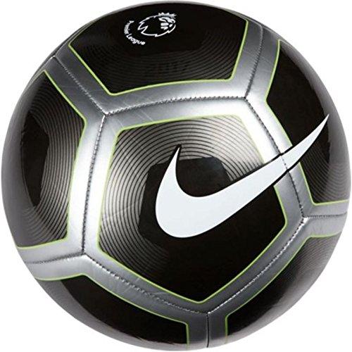 51YdKeXuzVL - Nike PITCH PL Ball, Unisex, Black (Metallic Black/Silver/White), 5 sports best price Review uk