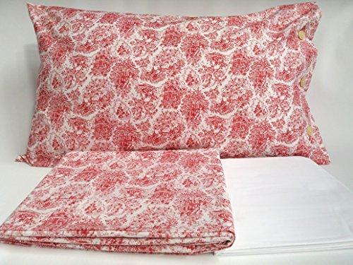 Bellora komplett Doppel Bettwäsche Perkal aus Reiner Baumwolle Jolie: Oben 255x 280+ Unter 175x 200+ 2Kissenbezüge 50x 80 -