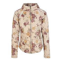 Cutecumber Girls Suede Self Design Plum Jacket AM-CC875A-PLUM-24