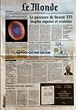 Telecharger Livres MONDE LE No 18737 du 22 04 2005 HUBBLE QUINZE ANNEES QUI ONT BOULEVERSE LA VISION DE L ESPACE EUROPE CARCAN CAMISOLE DE FORCE LA BATAILLE DES MOTS GASTRONOMIE LES SAVEURS PREMIERES DE REGIS MARCON BOCUSE D OR 1995 ET TROIS ETOILES TERROIR EN AUVERGNE VENTES MEUBLES ET OBJETS DE L ARCHITECTE DECORATEUR ROBERT MALLET STEVENS LE PARCOURS DE BENOIT XVI INSPIRE ESPOIRS ET CRAINTES EUROPE LES PATRONS DIVISES 11 SEPTEMBRE ZACARIAS MOUSSAOUI RISQUE LA PEINE (PDF,EPUB,MOBI) gratuits en Francaise