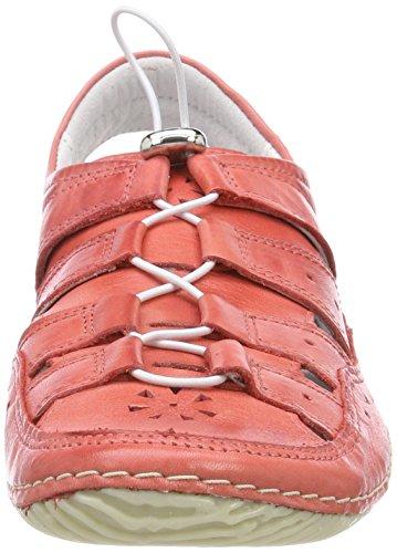 Jana 23605 colore Mocassini Rosse Donne Rosso OTqAwO