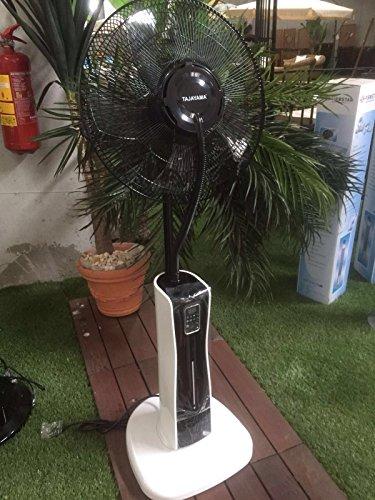 Foto de Ventilador con nebulizador para interiores y exteriores, ideal para prevenir alergias