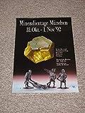 Plakat - Mineralientage München 31. Okt.-1.Nov. `92