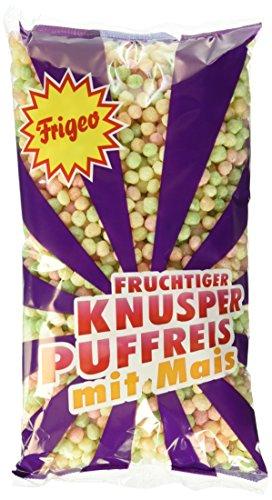 Frigeo Knusper-Puffreis - luftig-fruchtiger Knusper-Spaß, 15-er Pack (15 x 80g)