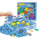 Magicfun Play Sand Set Moldura para niños con moldes de Vida Marina...
