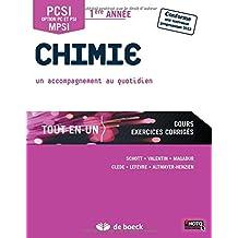 Chimie PCSI/MPSI - 1ère année Tout-en-un