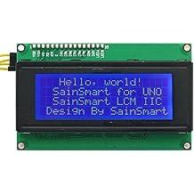 SainSmart IIC LCD2004 - Módulo LCD para placas Arduino Uno y Mega R3 (20 x 4)