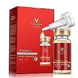 Siero idratante con vitamina C - Liquido naturale lucido e Aloe per acne, per collo e scollo, 12 ML Falliback