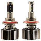 H13 LED Auto Scheinwerfer 9000LM 60W Scheinwerferlampe mit CSP LED CHIPS, 6000K kühles Weiß, 1 Jahre Garantie(2 Stück)
