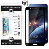 #7: TheGiftKart Honor 7X Tempered Glass - Edge-To-Edge Full Screen Coverage Premium HD Full Screen Tempered Glass (Black)