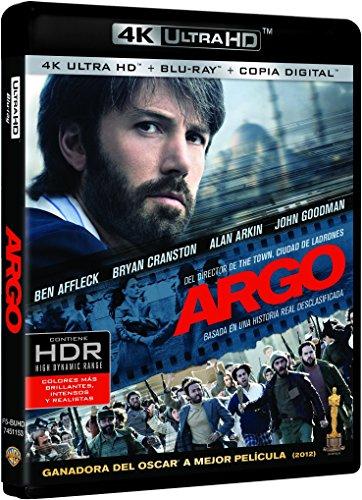 Argo (4K Ultra HD + Blu-ray + Copia Digital) [Blu-ray]