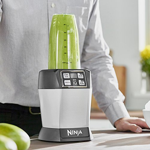 Nutri Ninja 1000W Blender with Auto-iQ - BL480UK - Silver