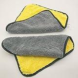 Panni per la pulizia Asciugamano in microfibra Asciugatura per auto Pulizia auto / Detailing Asciugatura rapida TAGLIA LARGE Car Care (30cm X 30cm) perfetto per la pulizia