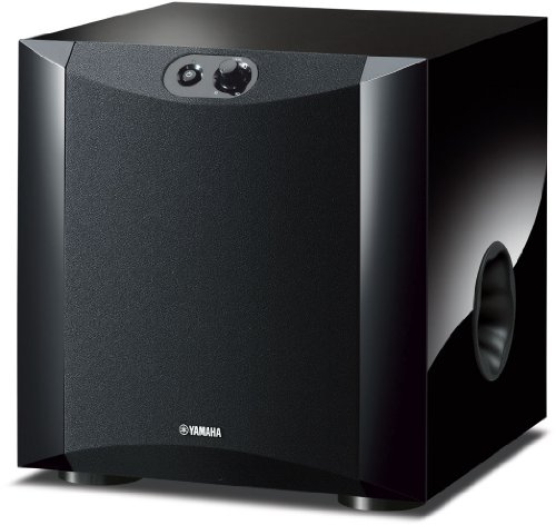 Yamaha NSSW200 Powered Subwoofer - Piano Black