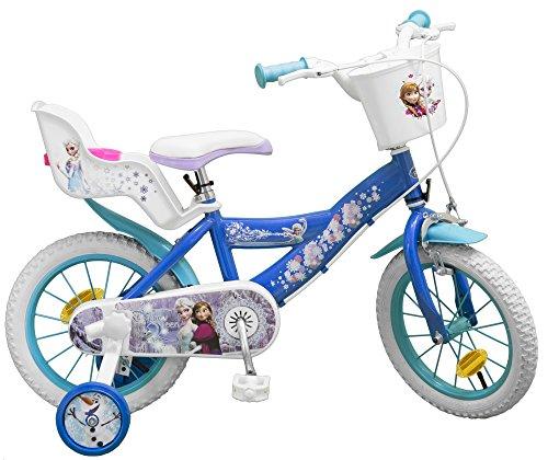 Disney 14 Zoll Kinderfahrrad Mädchenfahrrad Kinder Fahrrad Rad Frozen die Eiskönigin