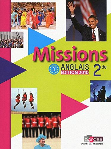 Missions 2de • Manuel de l'élève avec CD audio élève (Éd. 2010)
