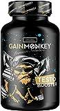 *NEU* GAINMONKEY® Muskelaufbau TESTOSTERON BOOSTER Extrem | 100 Testo Kapseln mit Tribulus und Maca | Der natürliche Ersatz für Anabolika & Steroide | Testosterone Tabletten | Testobooster