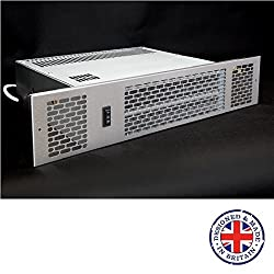 KPH-1500Classic - Kitchen Plinth heater - Central Heating - Hydronic - 1.5kW (Brushed Stainless Steel)