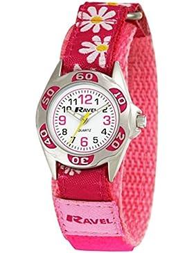 Ravel Festival Mädchen R1507.33 Armbanduhr, Klettverschluss