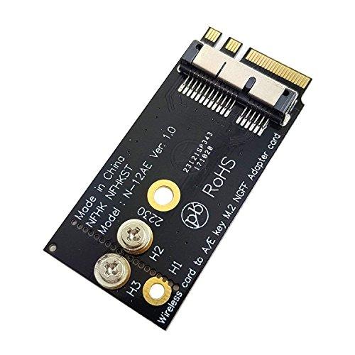 LeHang BCM94360CS2 BCM943224PCIEBT2 Scheda Wireless - NGFF M 2 Chiave A/E  Adattatore Mac