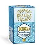 Realtea Detox N. 2 Cleanses The Body - Infuso con semi di anice, finocchio, radice di liquirizia, cardamomo, coriandolo