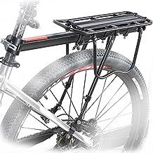 Aluminio Bicicleta Trasera estante bicicleta portaequipajes Ciclismo Tija estante Mountain Bike portaequipajes Cargo