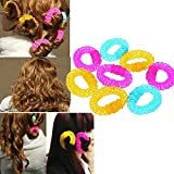 6 pcs/set Magic Beauty Spiral Curly Ring...