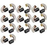 sourcingmap® 20stk 9mm x 5mm x 5mm Motor Kohle Bürsten für Generischer Elektromotor