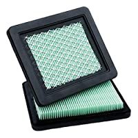 HELLOO HOME Air Filter Lawn Mower Cleaner Fit For Honda 17211-ZL8-023 GCV160/190 Air Filter Cartridge - Black