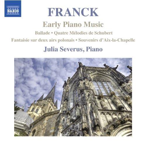 Franck: Early Piano Music