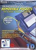 FolderSys 80130, System9 Disk-Hüllen A4 für 4 Disks, 10 Stück