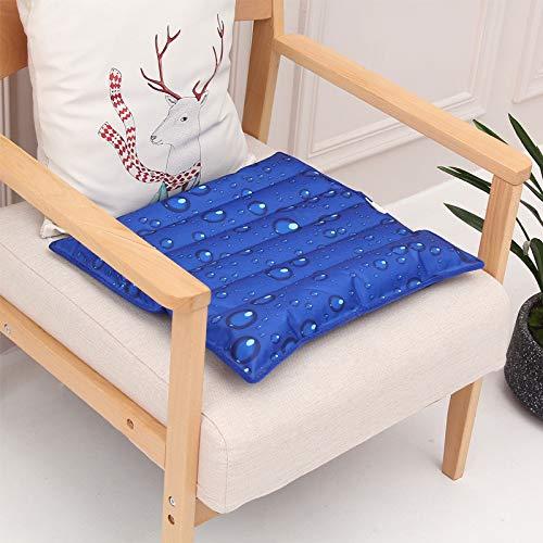 vijTIAN Multifunktionale Sommer Eiskissen Kühlkissen Sitzbezug Stuhl Sofa Matte Eiskristall Wassermatte Kühlkissen für Sommer a (Ersatz-baby-auto-sitzbezüge)