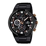 Best Casio Edifice Watches - Casio Edifice Chronograph Black Dial Men's Watch-EFR-544BK-1A9VUDF (EX230) Review
