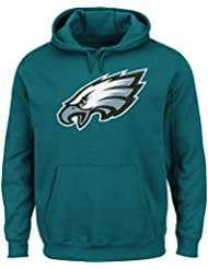 Philadelphia Eagles Majestic Critical Victory 2 Men's Hooded Green SweatShirt Chemise