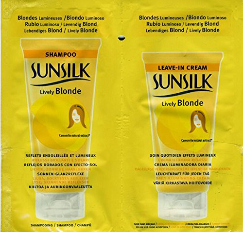 sunsilk-lively-blonde-sachets-4-x-10ml-shampoo-4-x-10ml-leave-in-cream